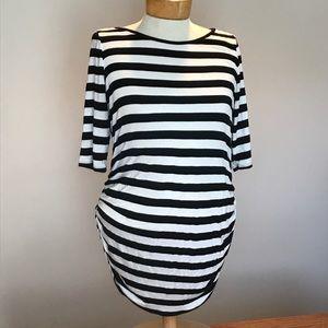 Maternity stripe top by Motherhood. Size medium